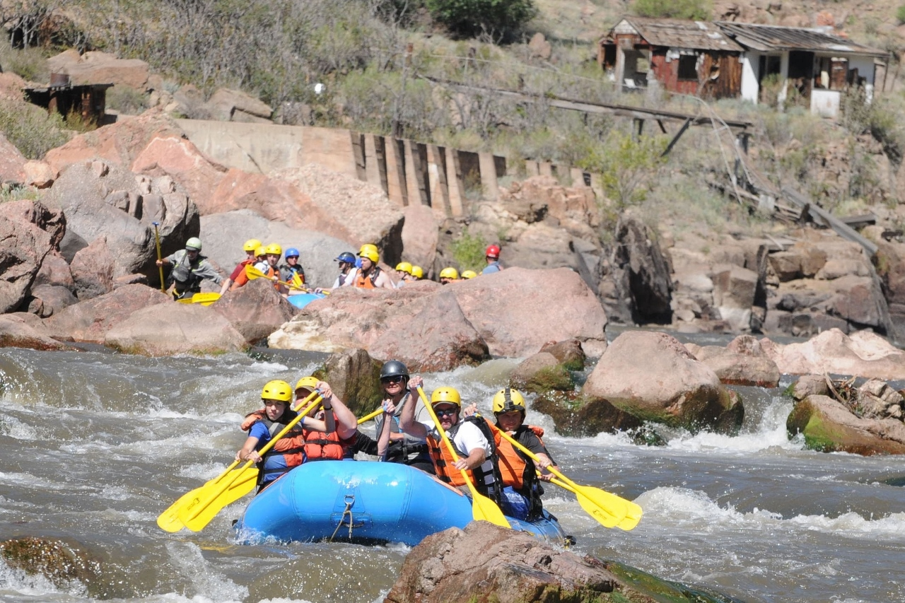 Royal Gorge Raft Trip